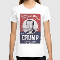 CRUMP ! Womens Fitted Tee White SMALL