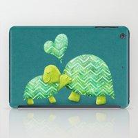 Turtle Hugs iPad Case