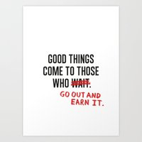 Good Things (Clean Versi… Art Print