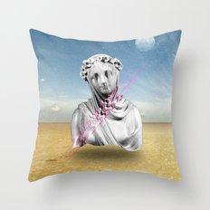 Desert Sculpture Throw Pillow