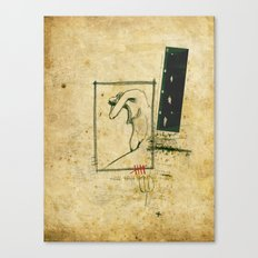 Percorso Canvas Print