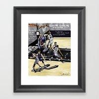 San Antonio Spurs 99, Me… Framed Art Print
