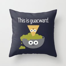 Abandoned Chip Throw Pillow
