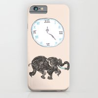 iPhone & iPod Case featuring Elefante reloj by Sonia B