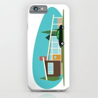iPhone & iPod Case featuring Hollywood Bungalows by Hand Drawn Creative
