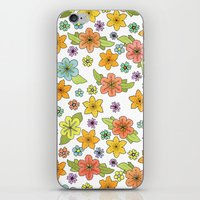 Flowers No. 2 iPhone & iPod Skin