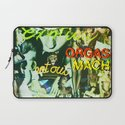 """Kiss Land"" by Cap Blackard Laptop Sleeve"