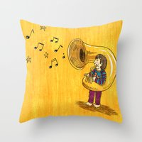 The Dream Of My Childhoo… Throw Pillow