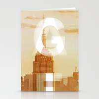 GEARS Of NYC Stationery Cards