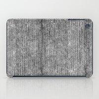 Stockinette Black iPad Case