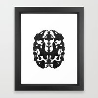 My Brain Hurts Framed Art Print