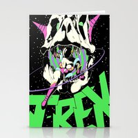 T-REX Color Stationery Cards