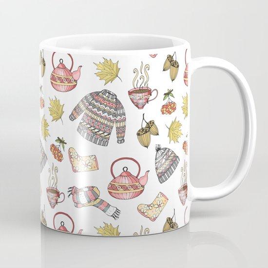 Autumn pattern Mug