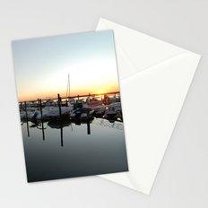 Sunset Pier Stationery Cards