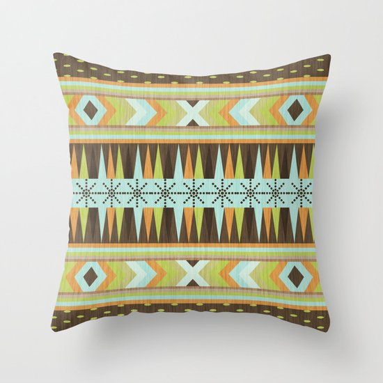Patternista. Throw Pillow