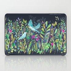 Little Garden Birds in Watercolor iPad Case