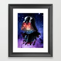 THE DARTH FATHER Framed Art Print