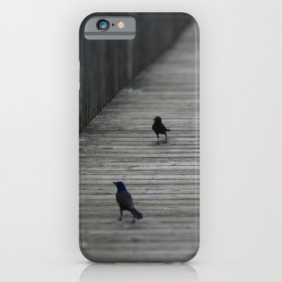 Black Birds iPhone & iPod Case