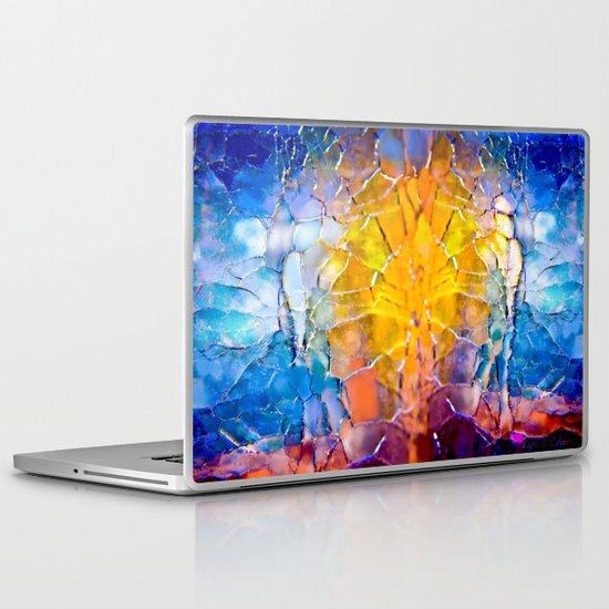 the man behind the sun Laptop & iPad Skin