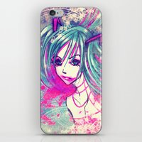 CrackHatsune iPhone & iPod Skin