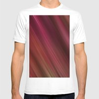 Fresh Rhubarb Mens Fitted Tee White SMALL