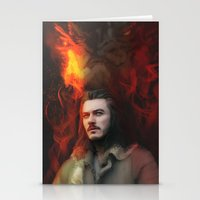 Bard the Dragon Slayer Stationery Cards
