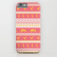 iPhone & iPod Case featuring AZTEC Animal Parade by Daniel Bevis