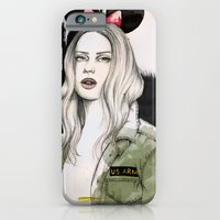 iPhone & iPod Case featuring Army Girl by Camis Gray