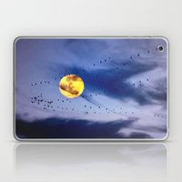 On a left along the moon and further to the east. Laptop & iPad Skin