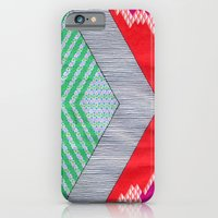 iPhone & iPod Case featuring Isometric Harlequin #8 by KATE KOSEK