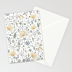 Flower Garden Watercolor Stationery Cards