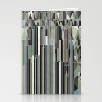 Penthouses and Parks (3) Stationery Cards