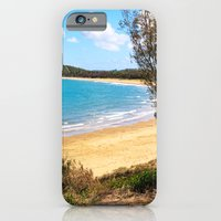 Idyllic tropical beach iPhone 6 Slim Case