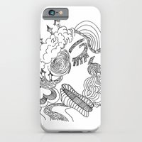 iPhone & iPod Case featuring dreams in line by ana javier