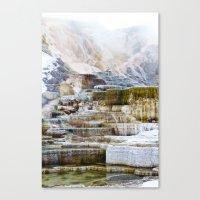 Yellowstone Hot Springs (2) Canvas Print