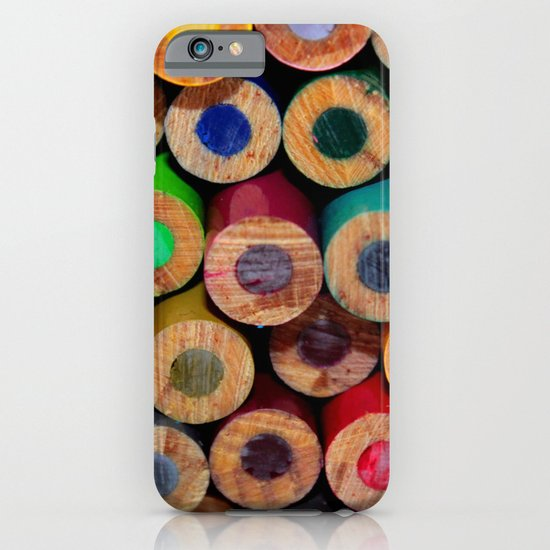 Colored Pencils Part II iPhone & iPod Case