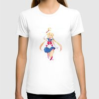 sailor moon T-shirts featuring Sailor Moon by Ellen Su
