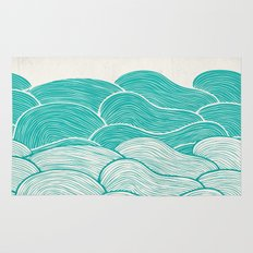 The Calm and Stormy Seas Rug