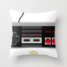 Nintendo Entertainment System Throw Pillow