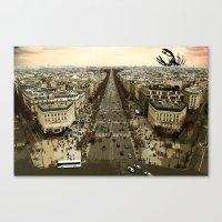 lobster in paris Canvas Print