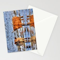 Sarah & Hamish - Highland Cattle Stationery Cards