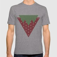 Strawberry Mens Fitted Tee Athletic Grey SMALL