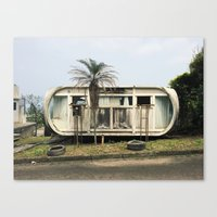 Abandoned Venturo House Canvas Print