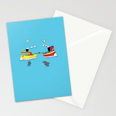 TUG BOAT OF WAR Stationery Cards