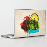 chicago Laptop & iPad Skins featuring Chicago by Badamg