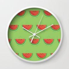 Mmmmm....Watermelon Wall Clock