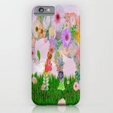 Elephant In My Garden iPhone 6 Slim Case