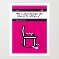 No015 MY Murphy Book Ico… Art Print
