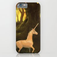 iPhone & iPod Case featuring Unicorn by Julia Marshall