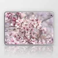 Icy Pink Blossoms - In M… Laptop & iPad Skin